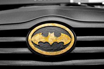 batman car comic book hero